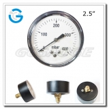 2.5 Capsule low black steel back entry low pressure manometer