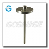 weld in solid machined ss flanged industrial thermowells