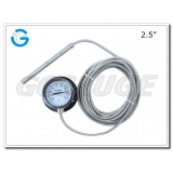 2.5 Inch capillary oven thermometers with flange
