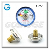 Medical oxygen cylinder manometer