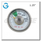 Spiral tube oxygen manometer