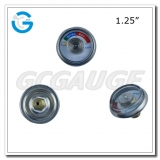 Spiral tube pressure gauges