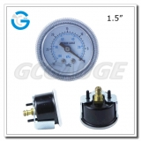 1.5 Capsule low black steel back entry 100kPa low pressure meter with U clamp